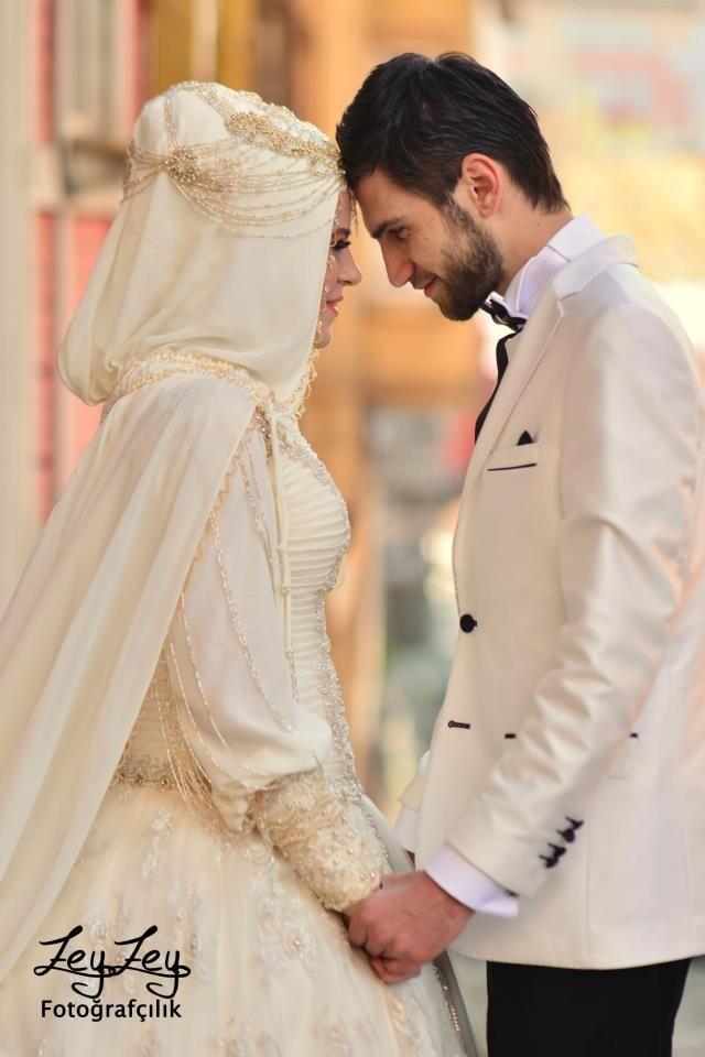 islamic wedding gowns hijab | ladies\' dresses | Pinterest ...