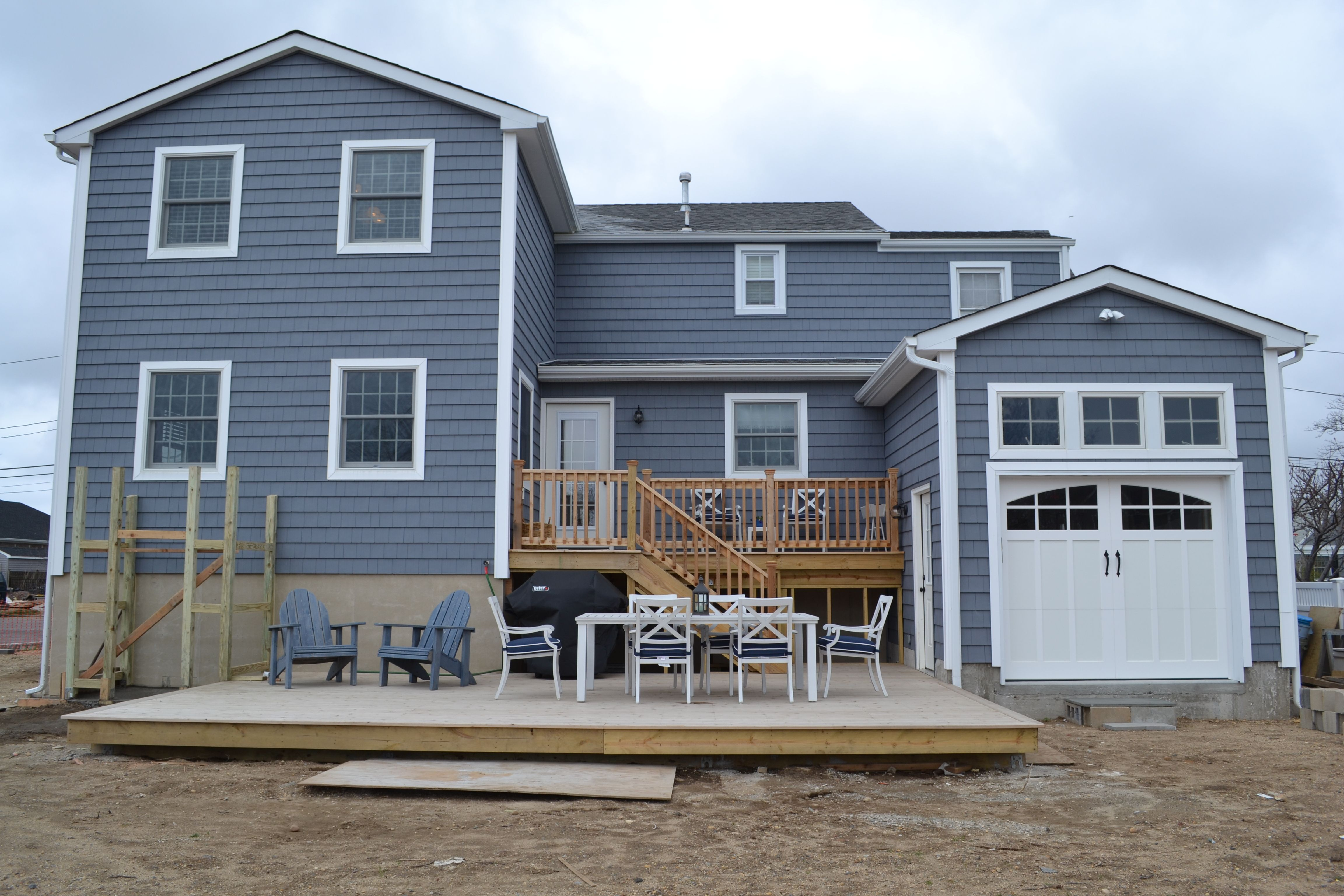 Certainteed Seagrass Blue Siding House Exterior House Colors