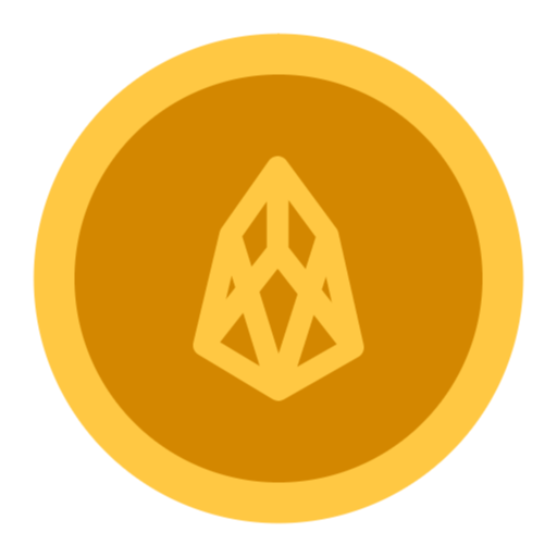 Free Eos Coin Png Svg Icon Coin Icon Social Media Icons Free Finance Icons