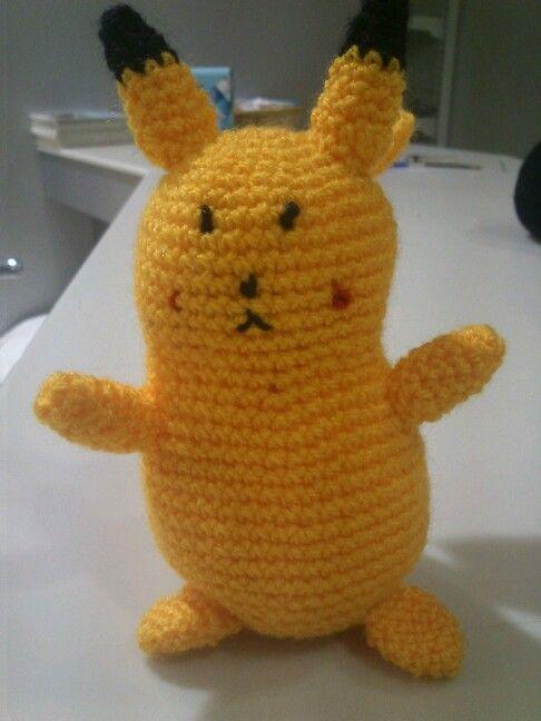 Pikachu amigurumi. Patrón de wolfdreamer. | Mis labores | Pinterest