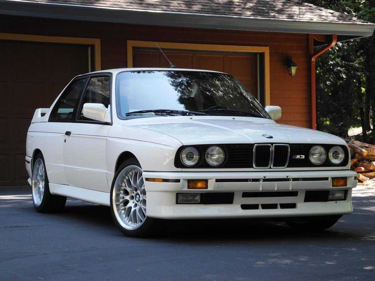 1989 Bmw M3 E30 M3 61 500 Miles 89 500 September 2018 With