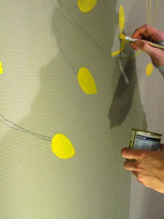 How To Use a Projector to Paint Your Own Wall Mural Wall murals