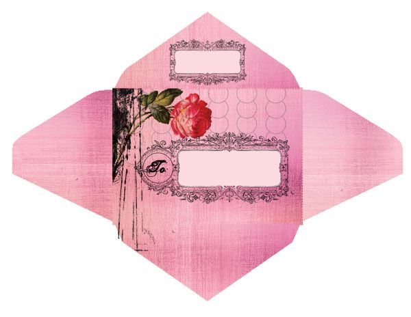 The Ladies of Design Free Envelope Templates from Papaya Art - sample small envelope template