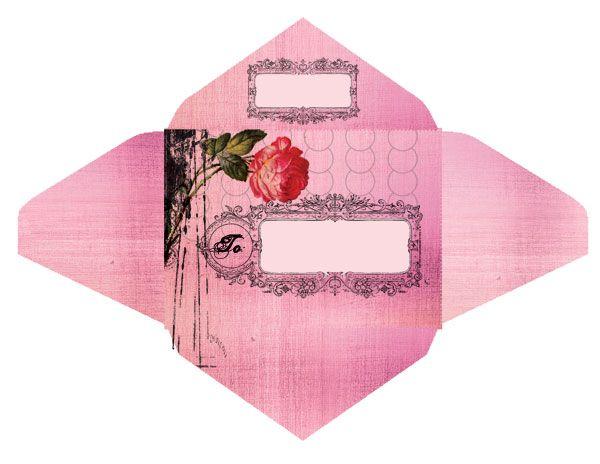 The Ladies Of Design Free Envelope Templates From Papaya Art