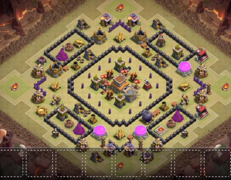 12 Best Th8 War Base Anti Dragon 2021 New War Dragons Clash Of Clans Game Supercell Clash Of Clans