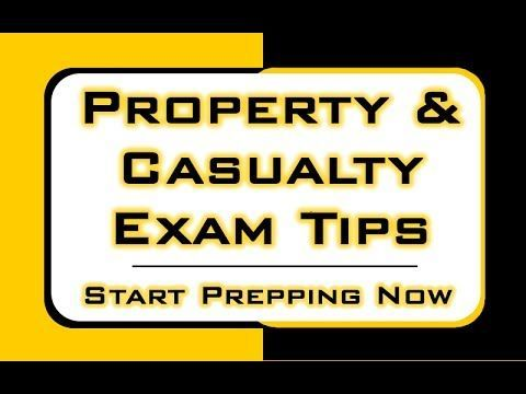 Property Casualty Insurance License Exam Tips Business Owners