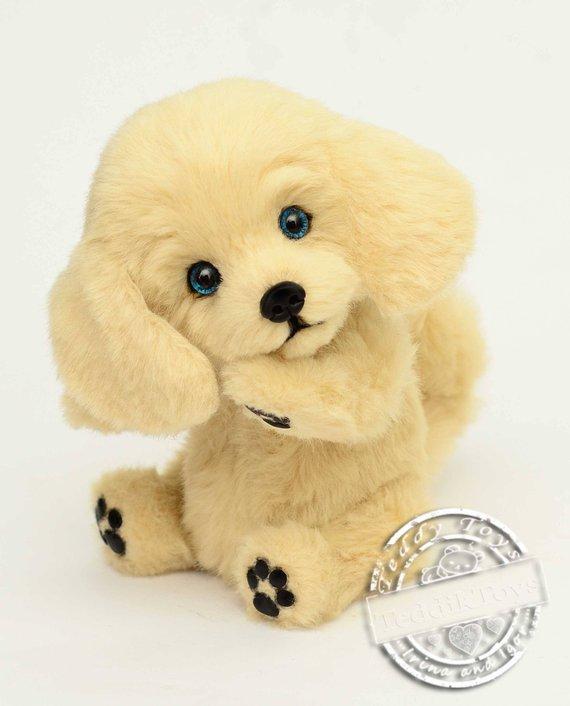 English Cream Golden Retriever Made To Order Dog Plush Toy