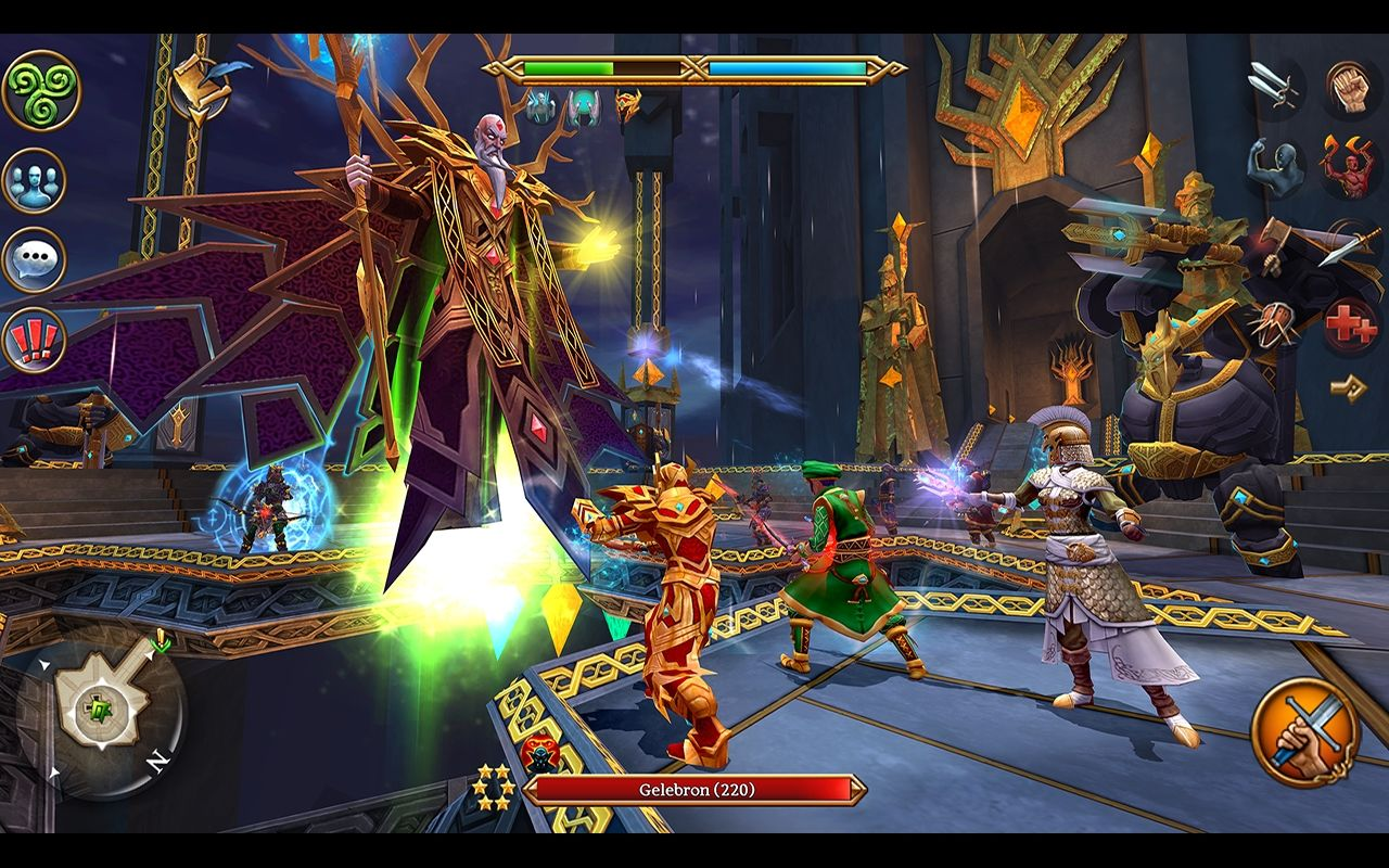 Best mmo android games you can play for free android