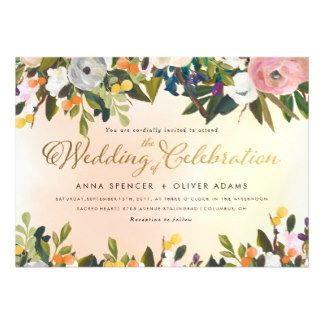 Personalized Wedding Invitation. Order yours at Boardman Printing