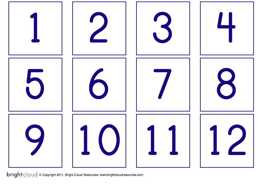 graphic regarding Free Printable Number Cards 1-20 identified as Printable+Quantities+1+20 Science and Math Printable