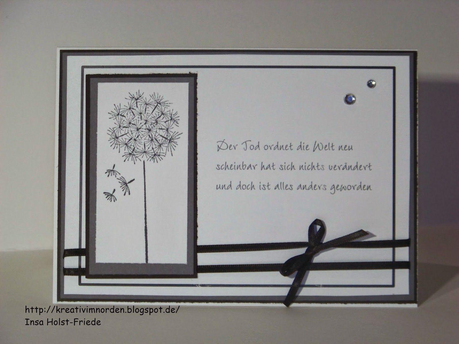 Trauerkarten Mit Bildern Danksagung Karten Trauerkarte Beileid Karte