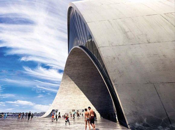 Big architecture, modern architecture, architecture renderings