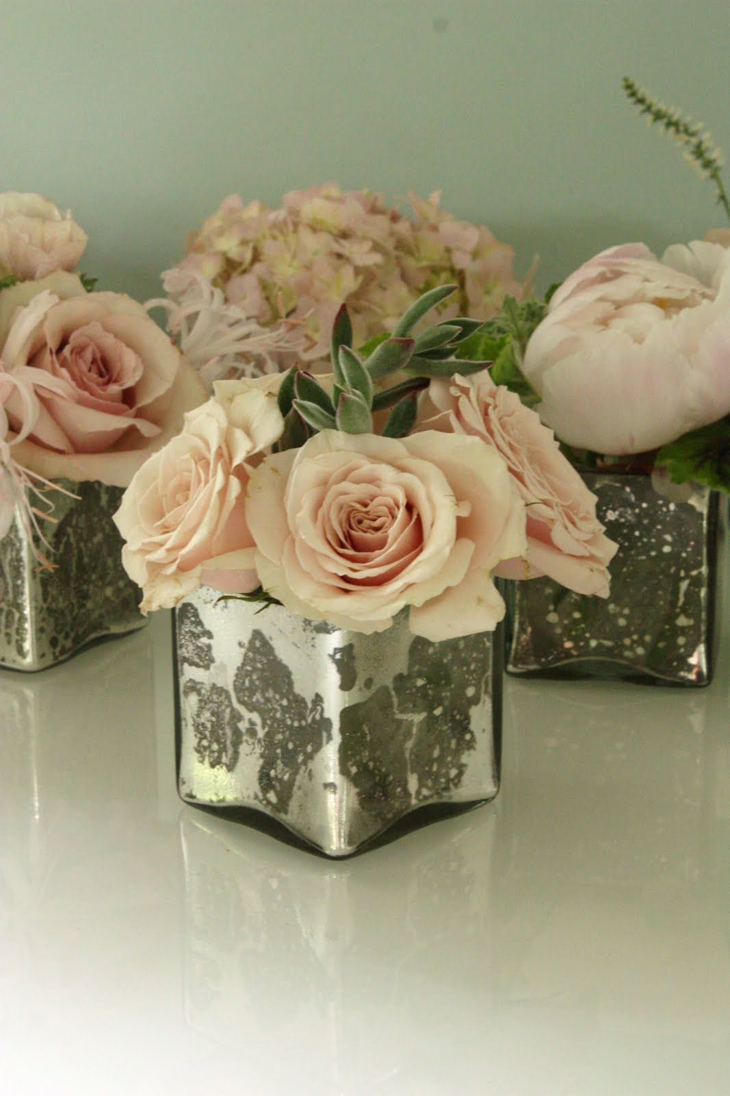 These little sweet arrangements are great to pair with for Small centerpieces for tables