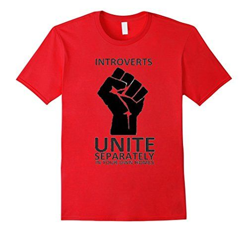 Introverts Unite  - Diva Duds -    Introverts Unite Separately - This fun Tee Shirt is designed to Unite ! Original Diva Duds wear. Available in 5 colors.  http://www.amazon.com/dp/B01EKJG0LO/ref=cm_sw_r_pi_dp_Ykbgxb0NH3K27