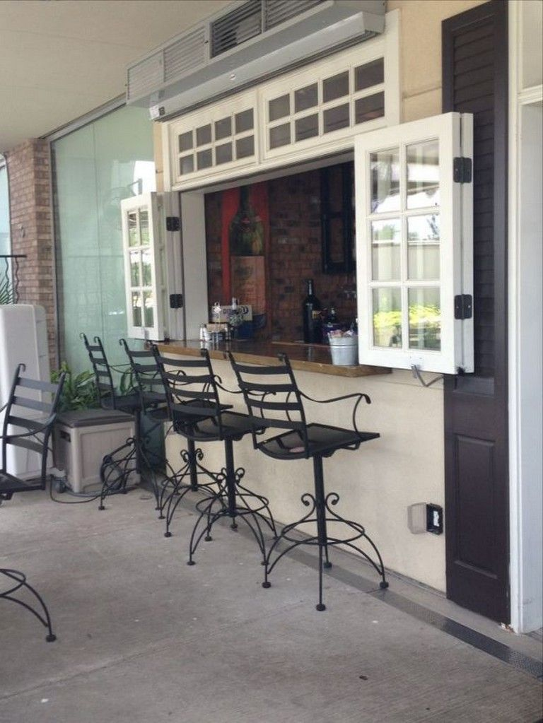 30 Amazing Kitchen Window Bar Designs You Would Love To Own Kitchen Window Bar Home Pass Through Window