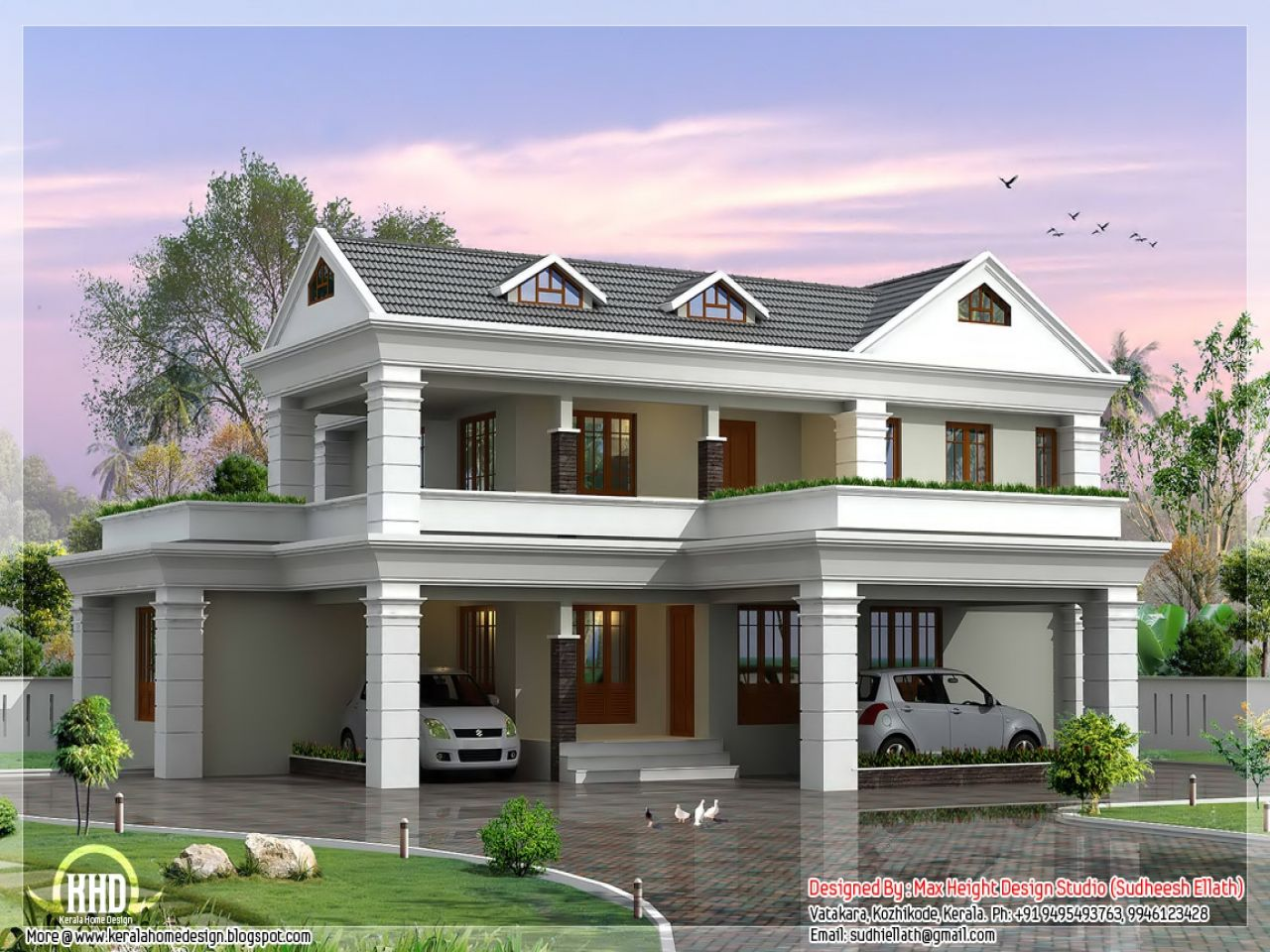 Span New N 2 Storey House Plans Story Home Designs 115 1