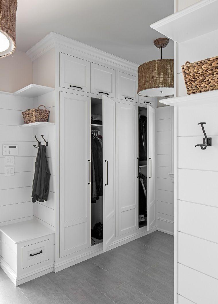 Arredamenti Di Case Moderne.Idee Arredo Casa Ingresso Di Casa Arredato Con Mobili Di