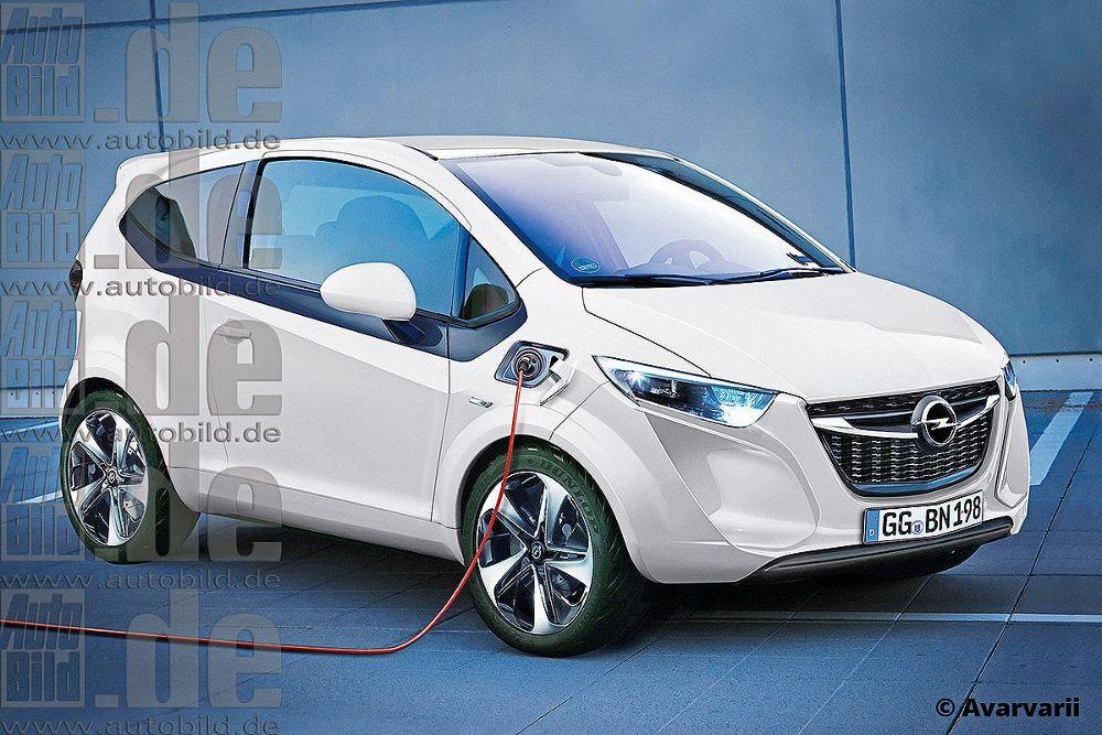 Opel Karl Premier Modele Electrique Pour Gm En Europe Europe Car Vans