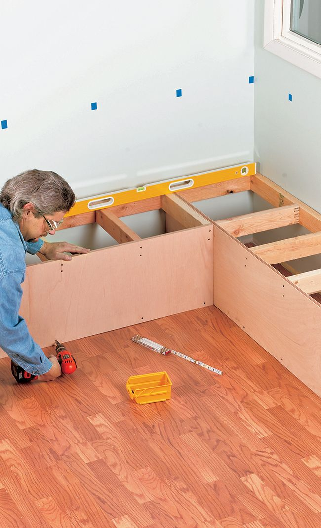 DIY Kitchen Booth Seating (with plans)