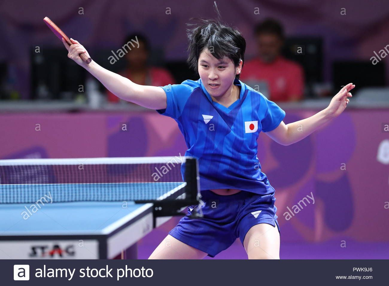 Download This Stock Image Buenos Aires Argentina 15th Oct 2018 Miu Hirano Jpn Table Tennis Mixed Youth Olympic Games Olympic Games International Teams