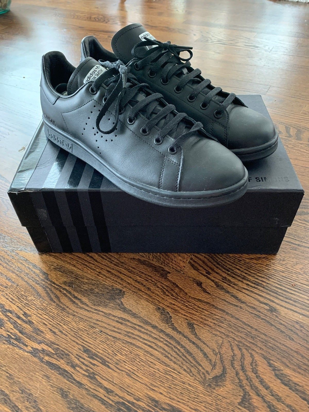 new arrival 8baa2 62fa5 Details about Adidas Raf Simons Stan Smith 11.5 NEW ...
