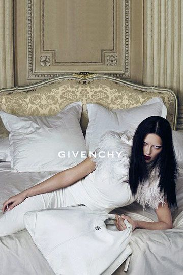 Adriana Lima The face of Givenchy, fall 2009. Photographed by Mert Alas and Marcus Piggott.