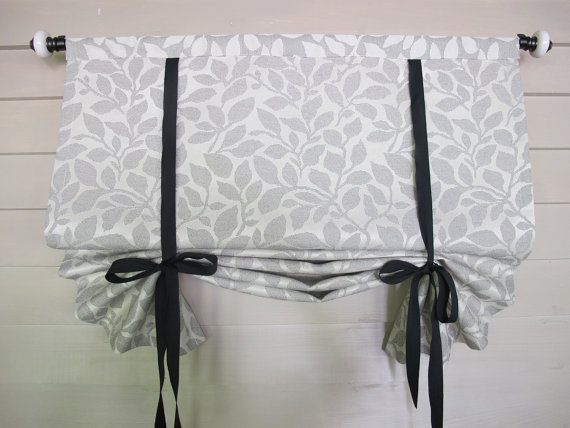 Custom Order For Randi Tie Up Shade 36 Inch Long Stage