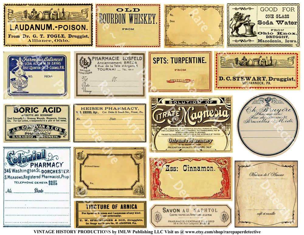 Pin By Ipung Sasmita On Vintage In 2020 Apothecary Labels Printing Labels Druggist