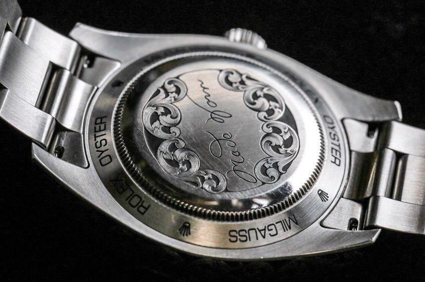 intra online calitate bună stil de viață nou Rolex Milgauss 116400 Engraved By MadeWorn Watch Review Wrist Time ...