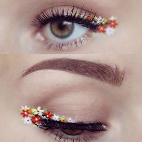 ❤️ #flowereyeliner
