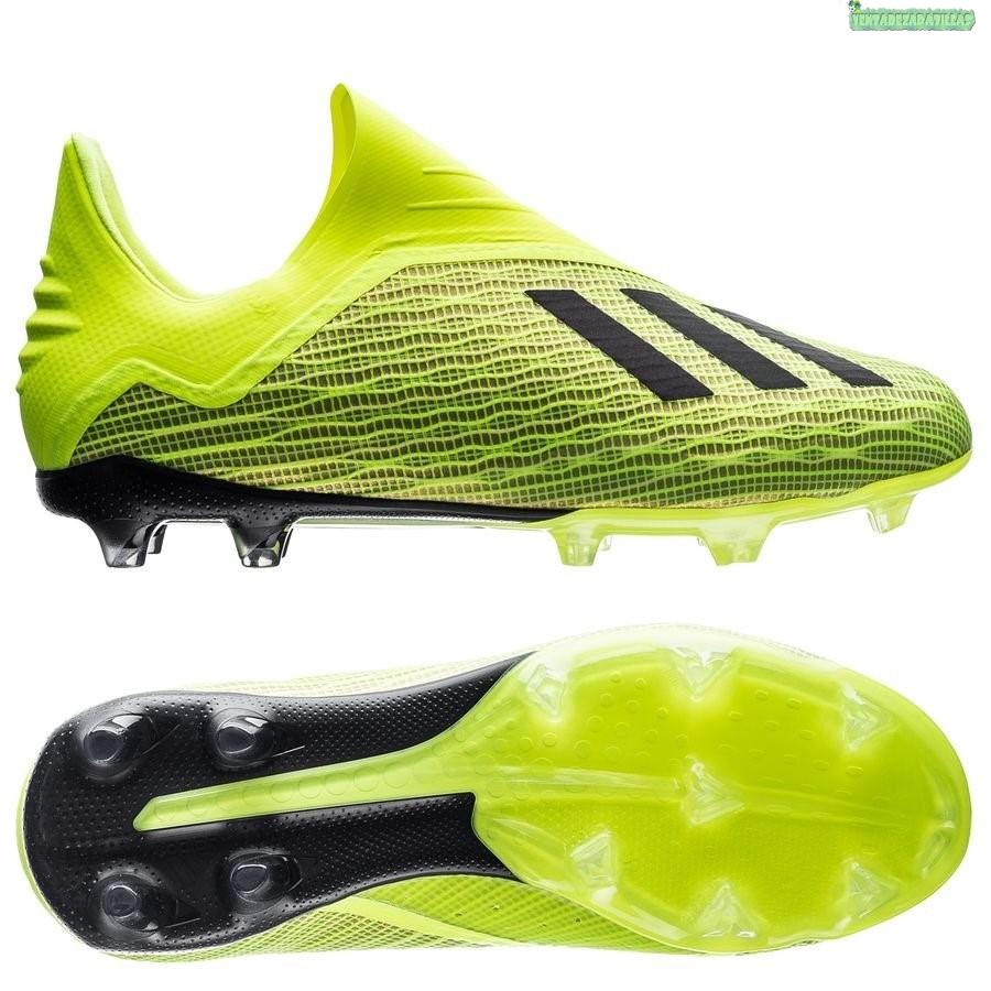Sumergido muñeca malla  Venta Adidas X 18+ Niños FG Amarillo   Zapatos de futbol adidas, Botines de  futbol adidas, Zapatos de fútbol