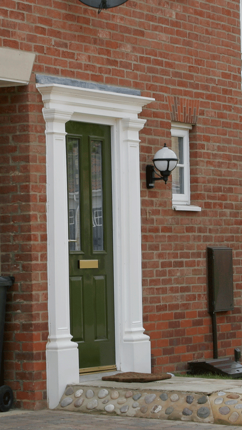 Lovely Front Door Surround Kits #4: Honiton 1512 Door Surround WBP-40117