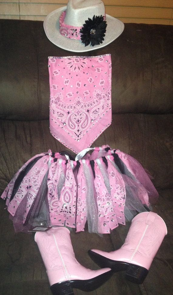 Infant Toddler Custom Cowgirl Outfit By Maloulouteboutique