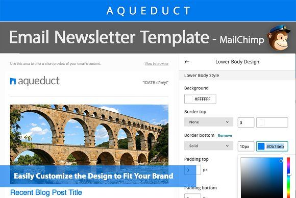Email Newsletter Template Mailchimp Email Newsletter Template Newsletter Template Mailchimp Newsletter Templates