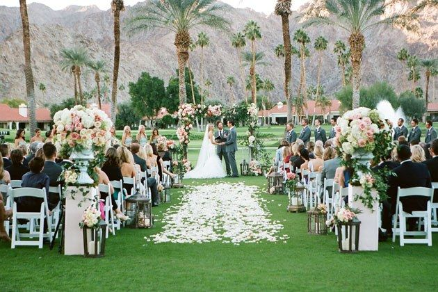 One S Fresh Fl Wedding At California La Quinta Country Club