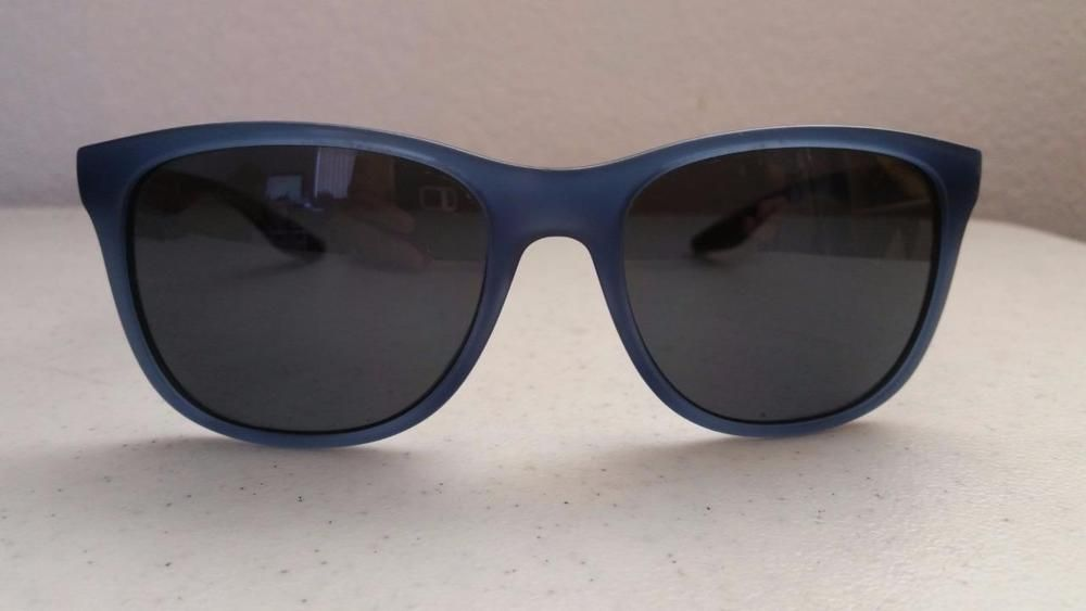 bc3845ffcb5  49.95 Prada SPS030 Sunglasses Blue Frame Gray Polarized Lenses 55  18 140   PRADA  Square