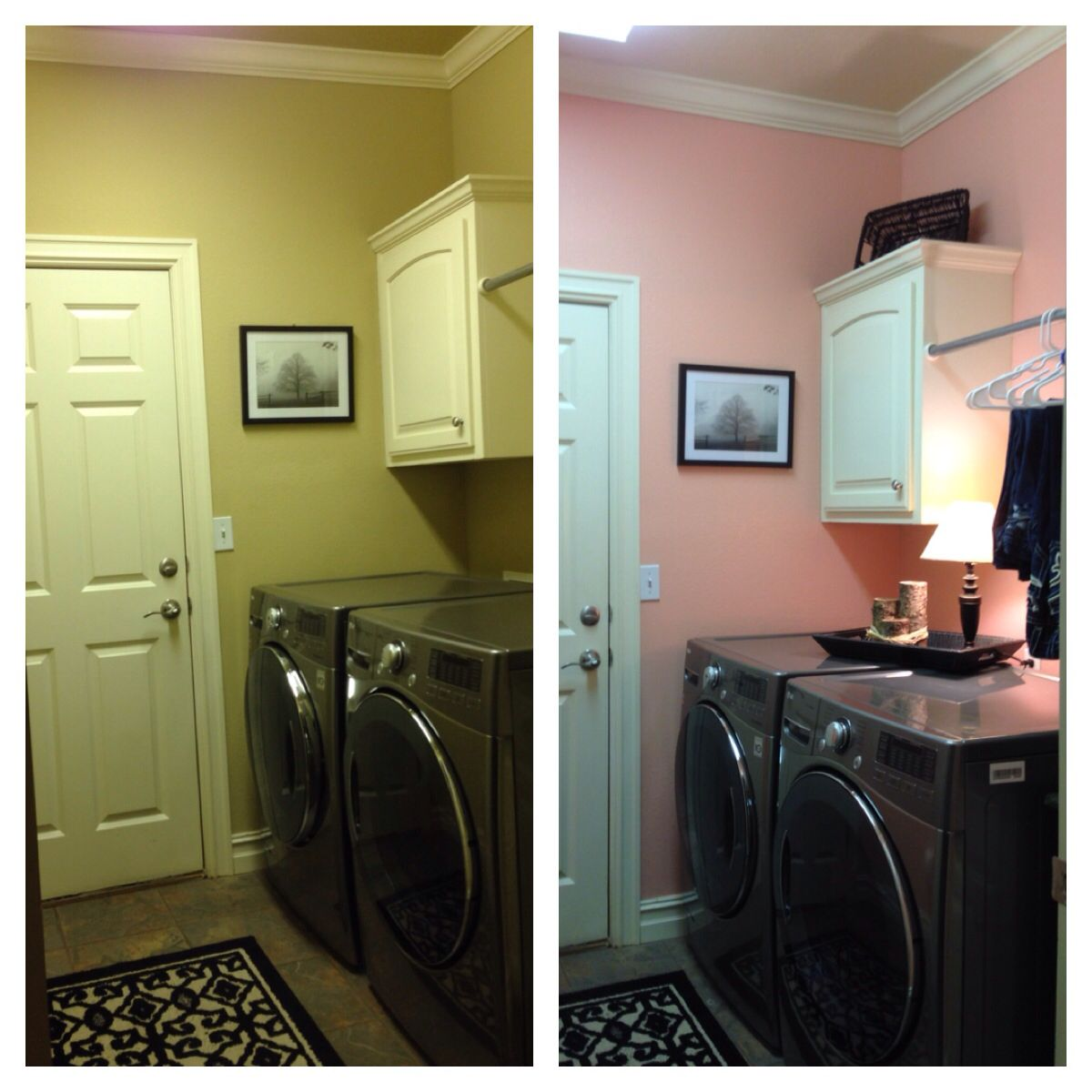 Bright Pink Paint Samples Kitchen Towels: Sherwin Williams Jovial On Walls. A Light Coral/pink Tone