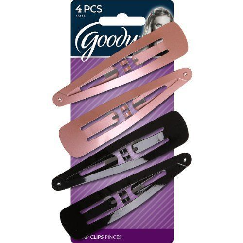 Goody Classics Snap Clips, X-Large, 4 Count (2-Pack) ** To view further for this item, visit the image link.