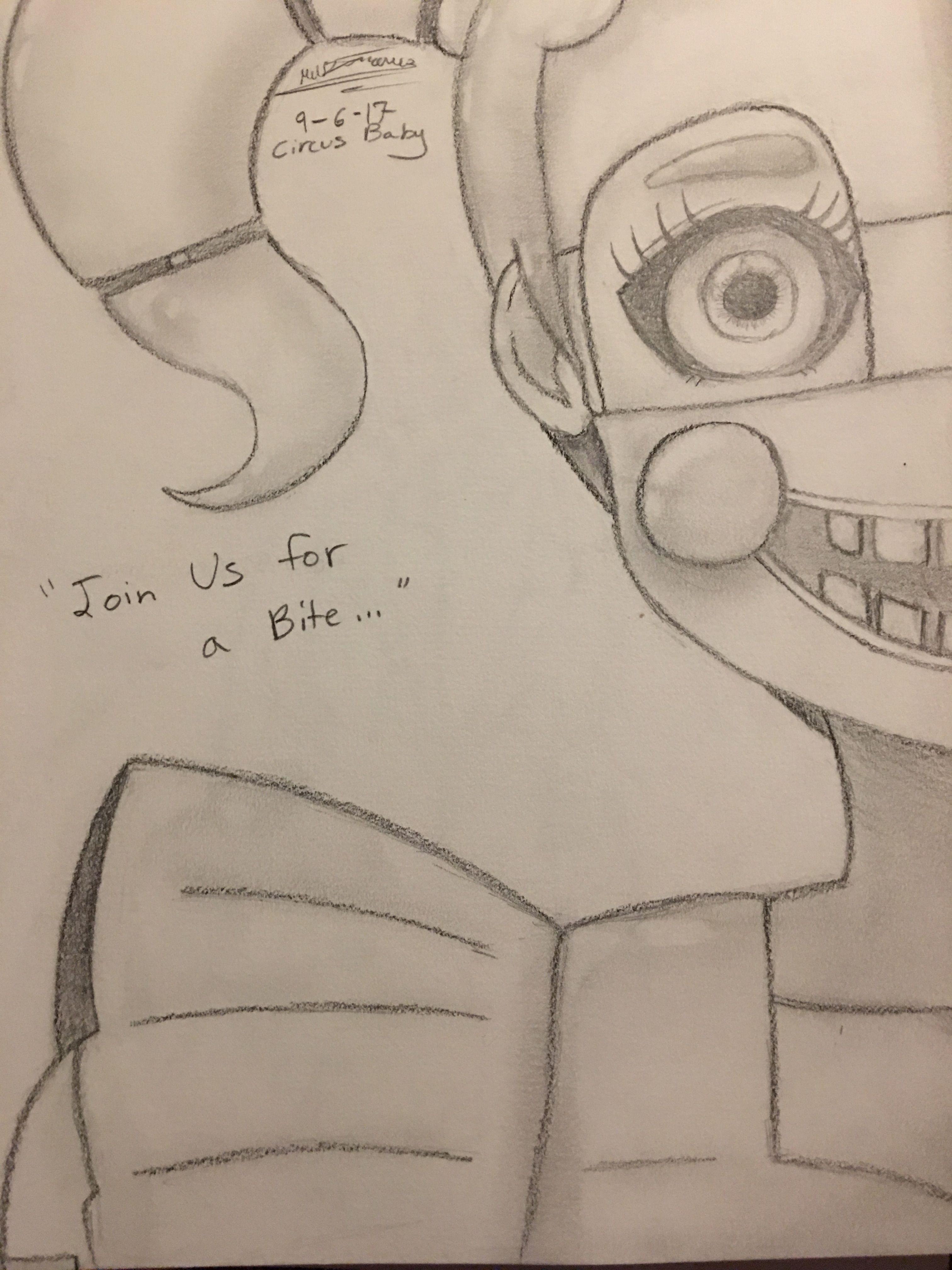 Five Nights At Freddy S Sister Location Circus Baby Anime Fan Art Circus Baby Freddy S Five Nights At Freddy S