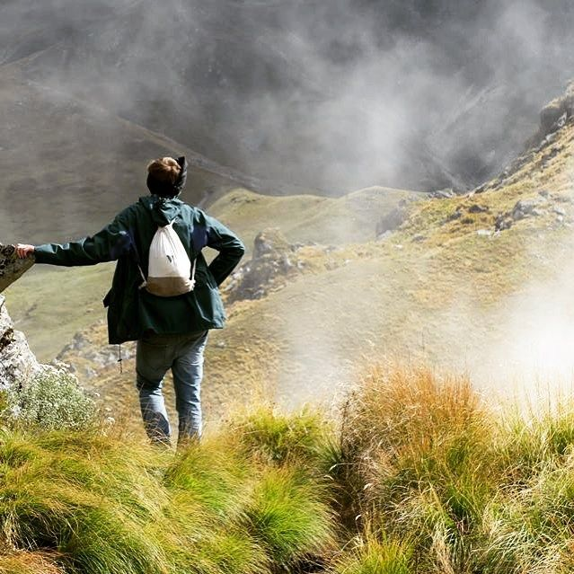 Wow! What a #wearastory Moment! Go and get your perfect travel companion here: bit.ly/1QVVxaf #fairfashion #traveltoindia #himalaya #hiking #beautifulnature