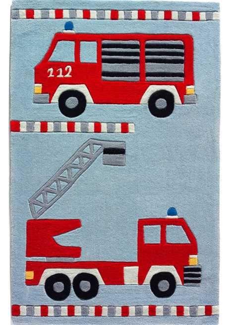 Der Hingucker Im Kinderzimmer Kinderteppich Feuerwehr