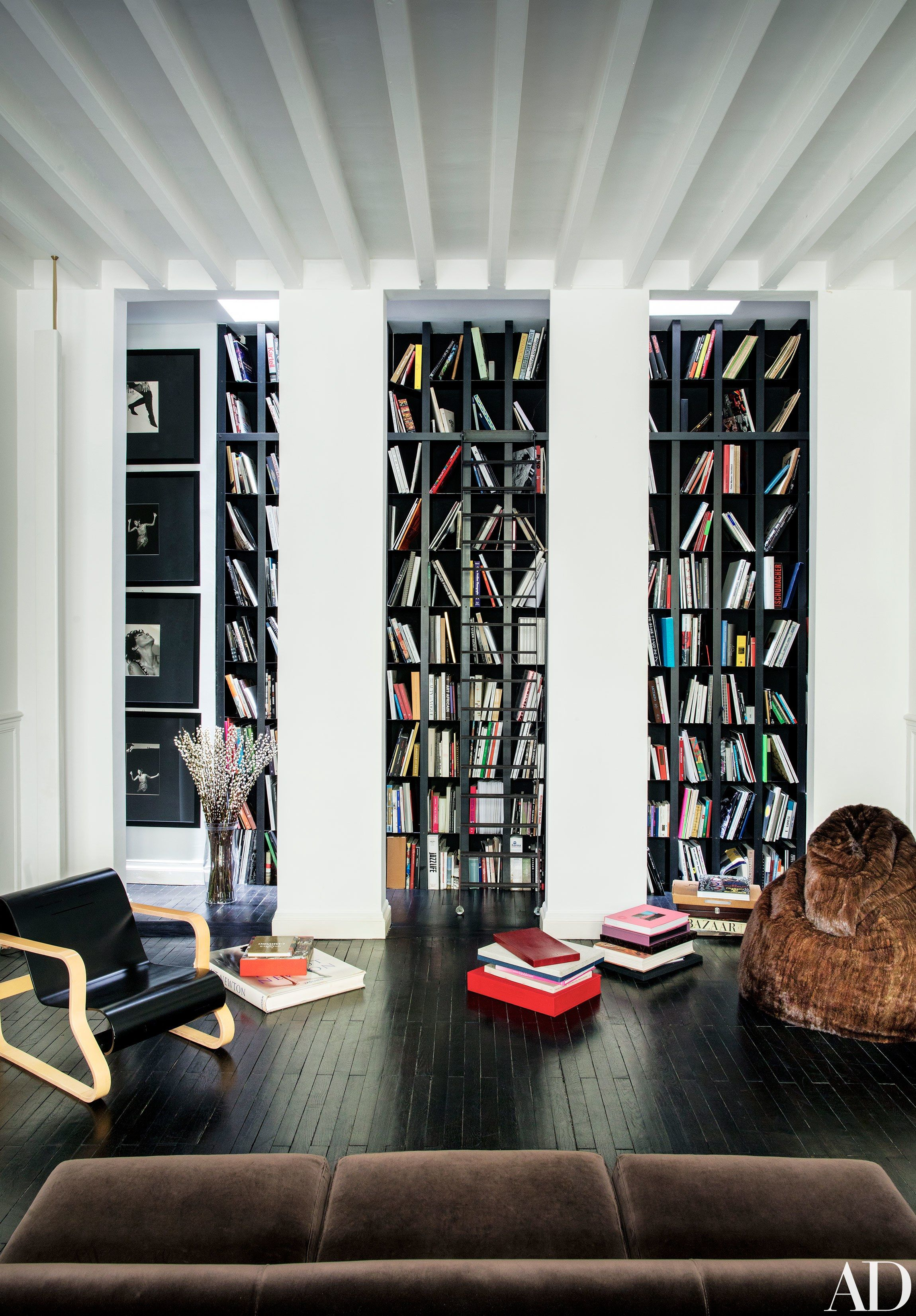 Italian Vogue Editor Franca Sozzaniu0027s Paris Townhouse Photos |  Architectural Digest