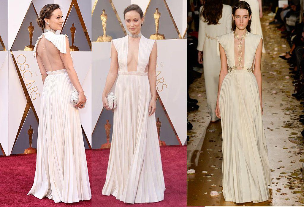 Olivia Wilde De Valentino En La Alfombra Roja Los Oscars By Fashionisima Es Celebrities Delapasarelaalaalfombraroja Encuesta Eventos Fashion