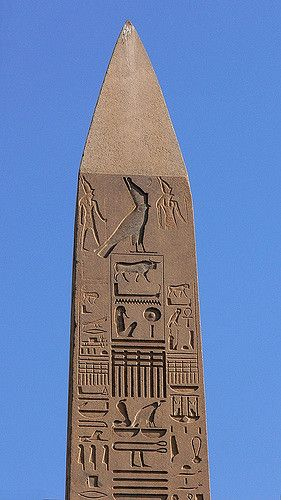 Obelisco de Luxor.