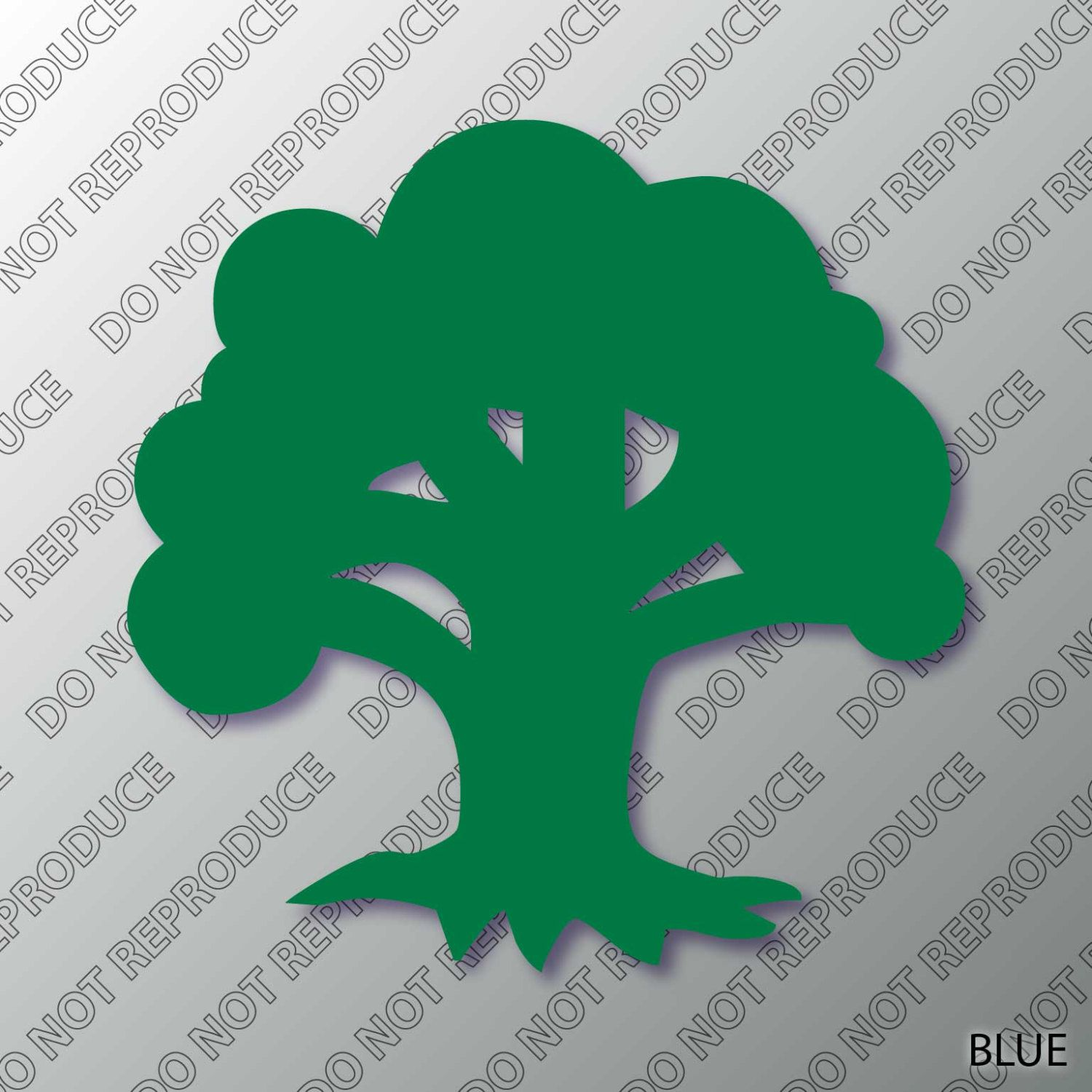 Mtg Forest Mana Symbol Magic The Gathering Decal By S4sarahssigns