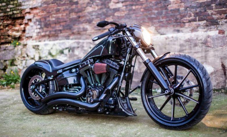"""► Harley-Davidson Softail Breakout """"Darkliner"""" by Nine Hills Motorcycles – DAR…"""