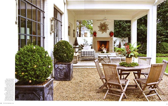 Suzanne Kasler Outdoor Room Rooms Atlanta Homes