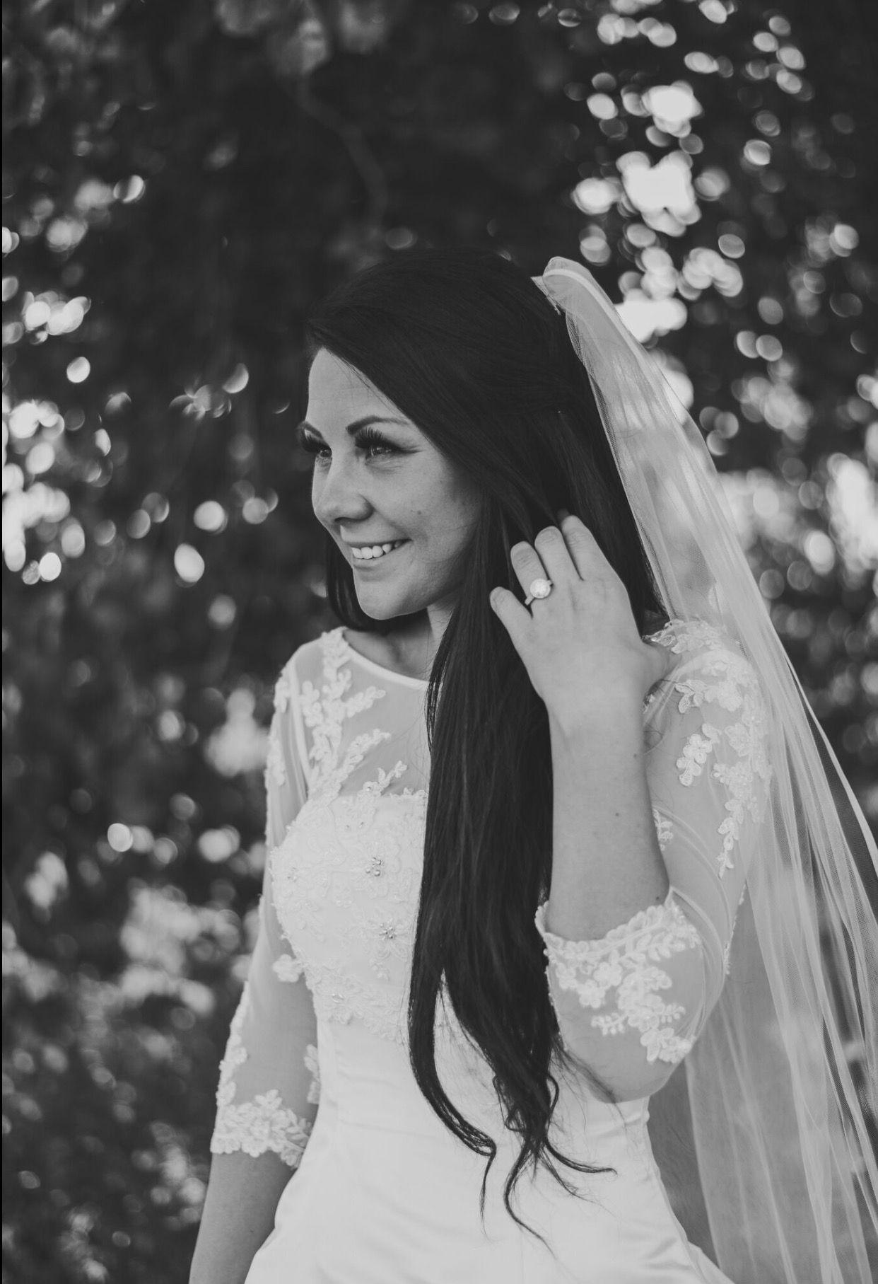 Malmrose Bridal white, ivory, wedding dress, outdoor wedding, flowy ...