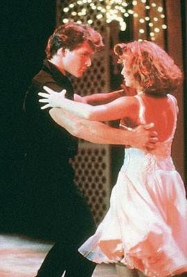 Patrick Swayze and Jennifer Grey in 1987's Dirty Dancing