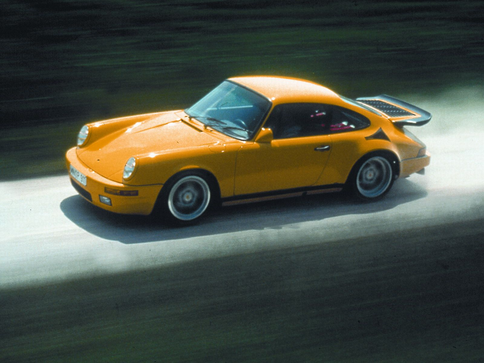 Cars colored yellow - Amazing Color For This Porsche Looks Great Yellow Car